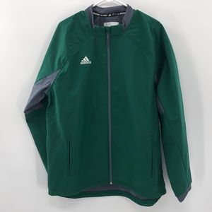 Adidas long sleeve Climaproof full zip jacket